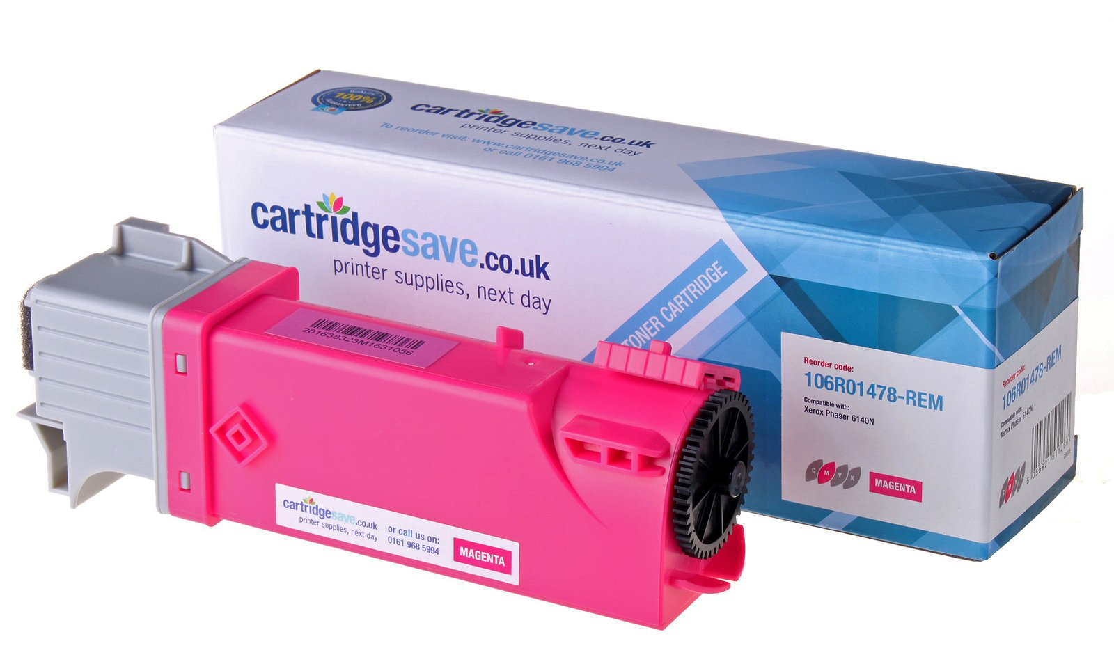 Compatible Magenta Xerox 106R01478 Laser Toner - (Replaces 106R01478 Laser Printer Cartridge)
