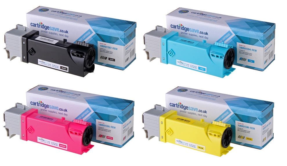 Compatible High Capacity 4 Colour Xerox 106R0159 Laser Toner Multipack - (Replaces 106R01597/6/5/4)