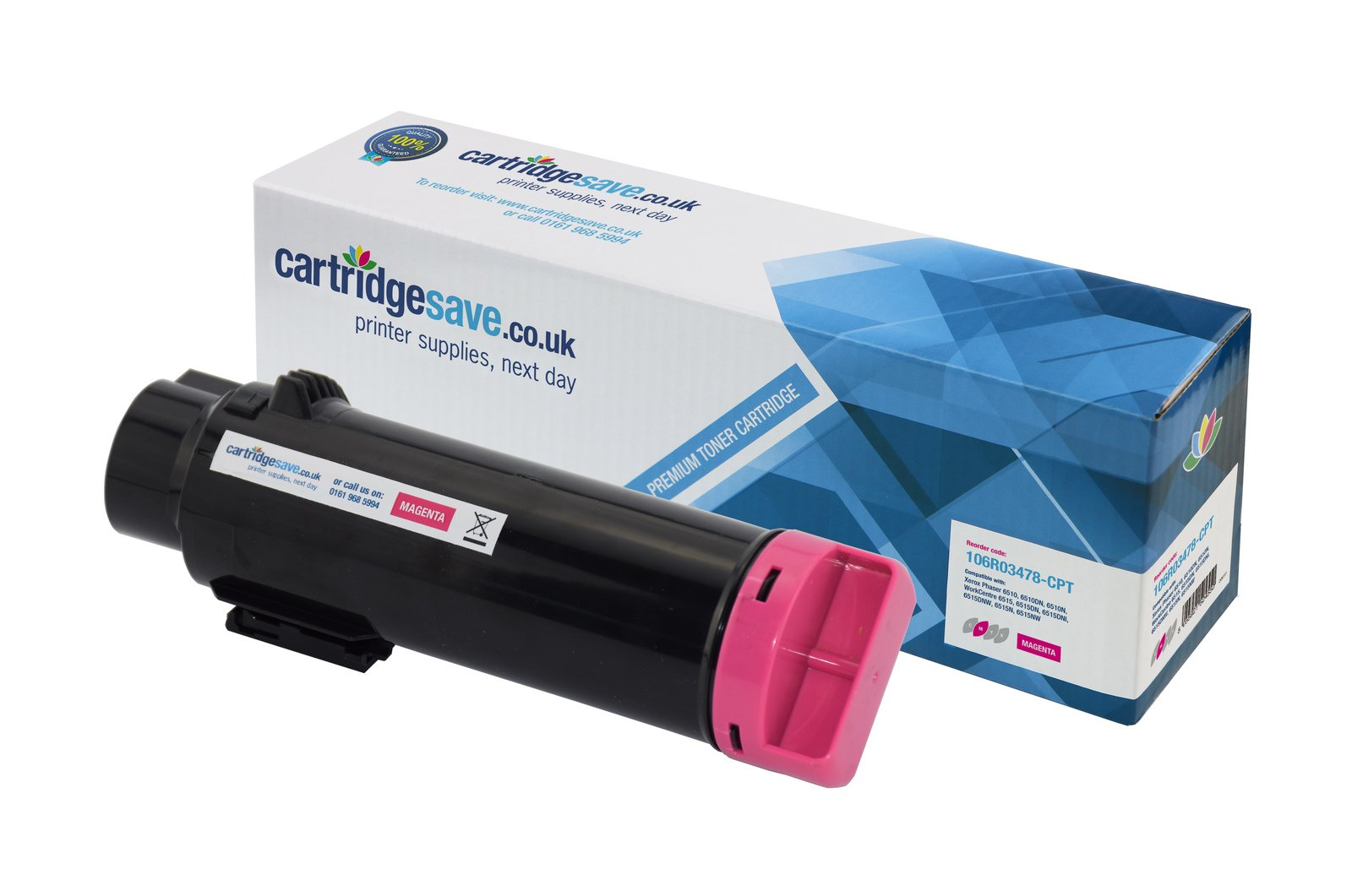 Compatible Magenta High Capacity Xerox 106R03478 Toner Cartridge - (106R03478)