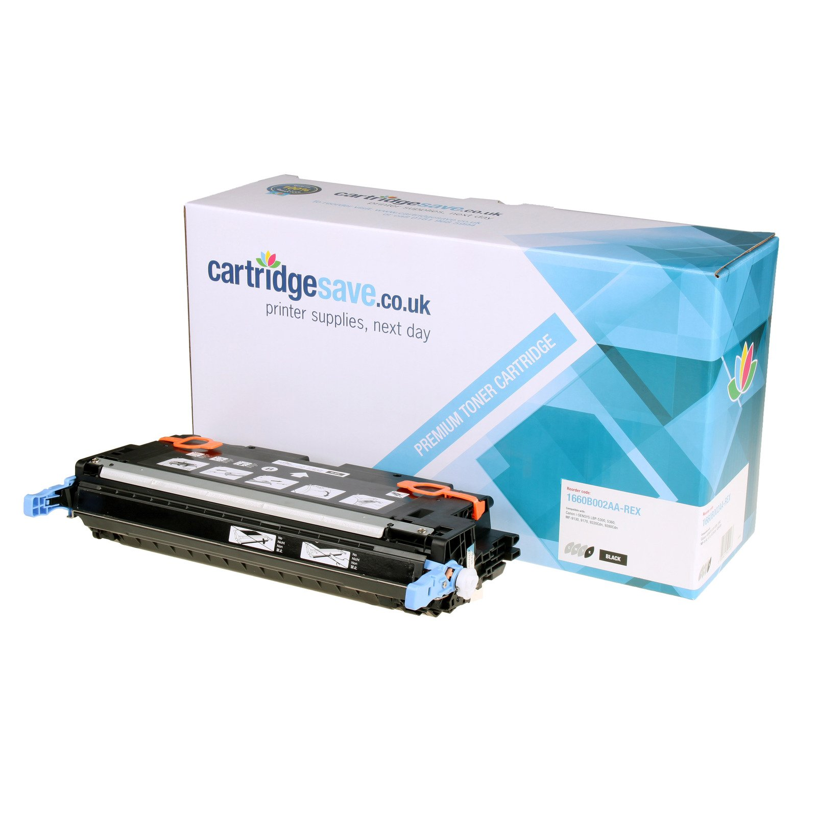 Compatible Black Canon 711 Toner Cartridge (Replaces Canon 1660B002AA Laser Printer Cartridge)