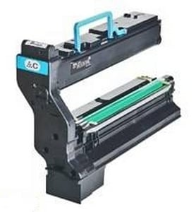Compatible Cyan Konica Minolta 1710582 Toner Cartridge (Replaces 1710582-004 Laser Printer Cartridge)