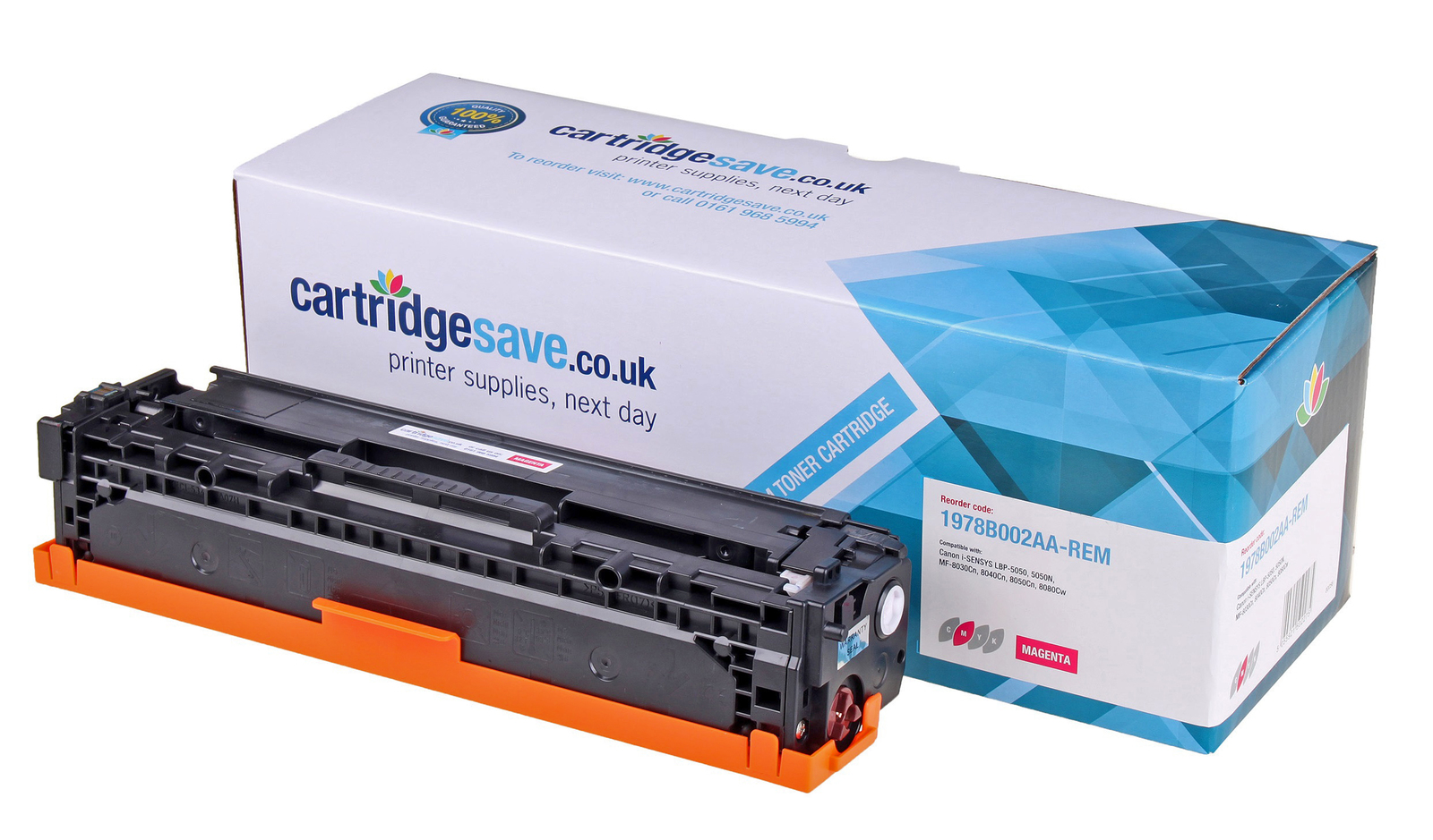 Compatible Magenta Canon 716 Toner Cartridge (Replaces Canon 1978B002AA Laser Printer Cartridge)
