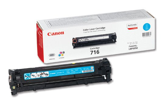 Genuine Cyan Canon 716 Toner Cartridge - (1979B002AA)