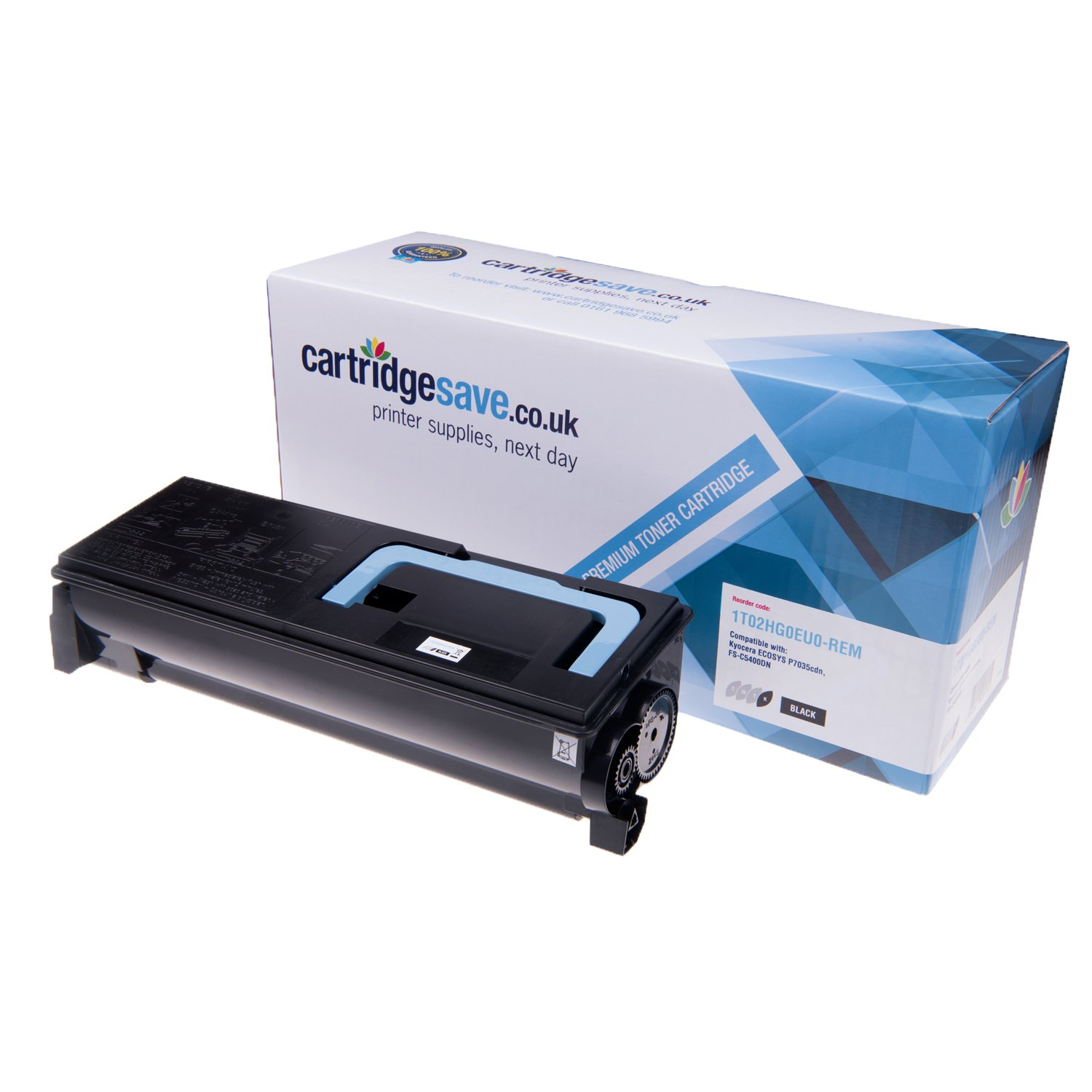 Compatible Black Kyocera TK-570K Toner Cartridge - (Replaces Kyocera 1T02HG0EU0 Laser Printer Cartridge)