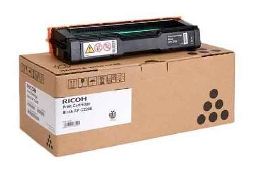 Genuine Black Ricoh Type SPC220E Toner Cartridge - (406094)