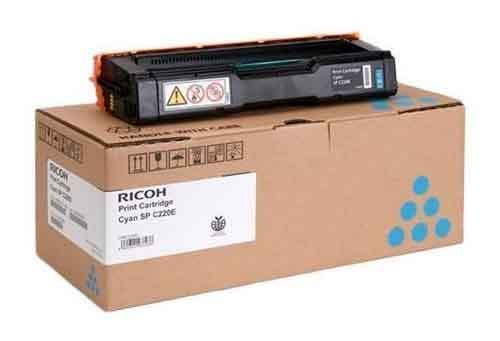 Genuine Cyan Ricoh Type SPC220E Toner Cartridge - (406097)