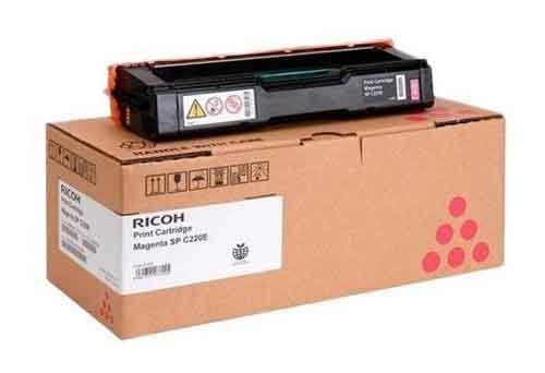 Genuine Magenta Ricoh Type SPC220E Toner Cartridge - (406100)
