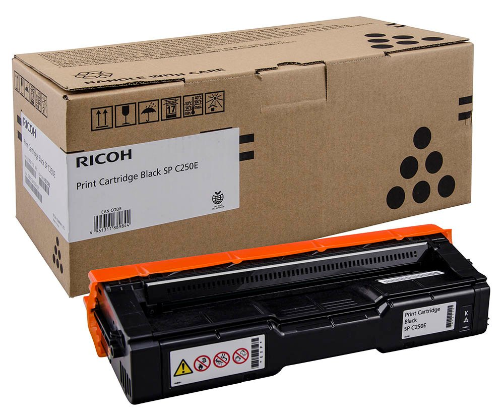 Genuine Black Ricoh 407543 Toner Cartridge - (407543)