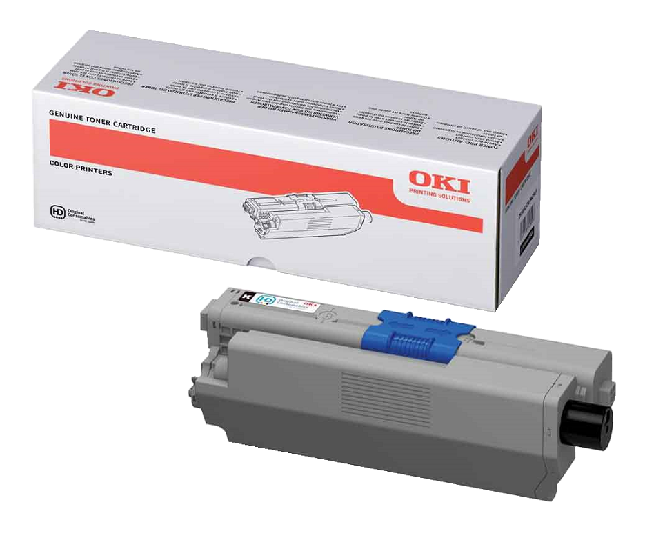 Genuine Black Oki 44469803 Toner Cartridge - (44469803)