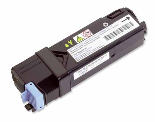 Genuine High Capacity Yellow Dell FM066 Toner Cartridge - (593-10314 Laser Printer Cartridge)
