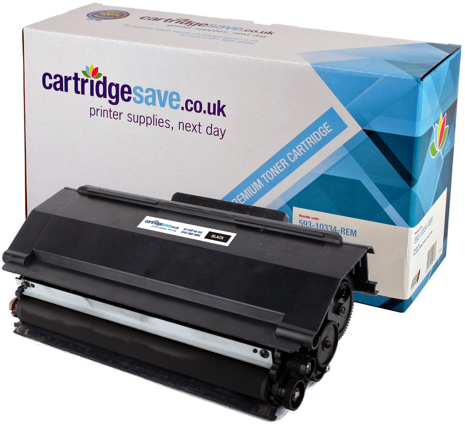 Compatible High Capacity Black Dell PK937 Toner Cartridge - (593-10334 Laser Printer Cartridge)