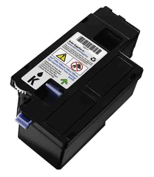 Genuine High Capacity Black Dell 593-11140 Toner Cartridge - (593-11016 Laser Printer Cartridge)