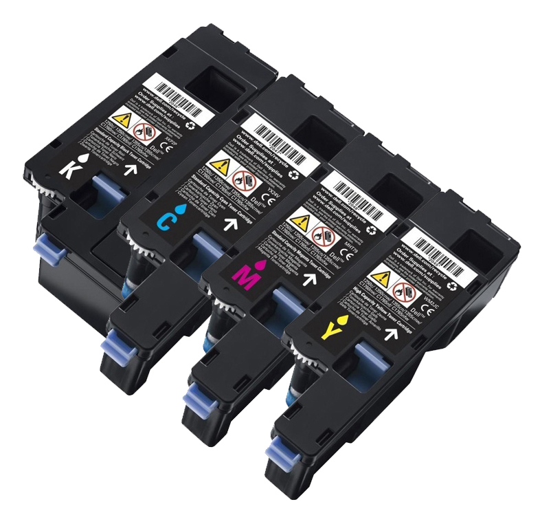 Genuine 4 Colour Dell 593-111 Toner Cartridge Multipack - (593-11130/11129/11128/11131)