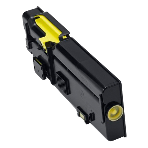 Genuine High Capacity Yellow Dell YR3W3 Toner Cartridge (593-BBBR Laser Printer Cartridge)