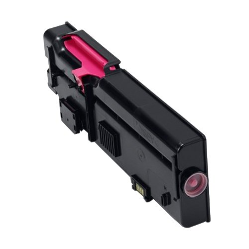 Genuine High Capacity Magenta Dell VXCWK Toner Cartridge (593-BBBS Laser Printer Cartridge)