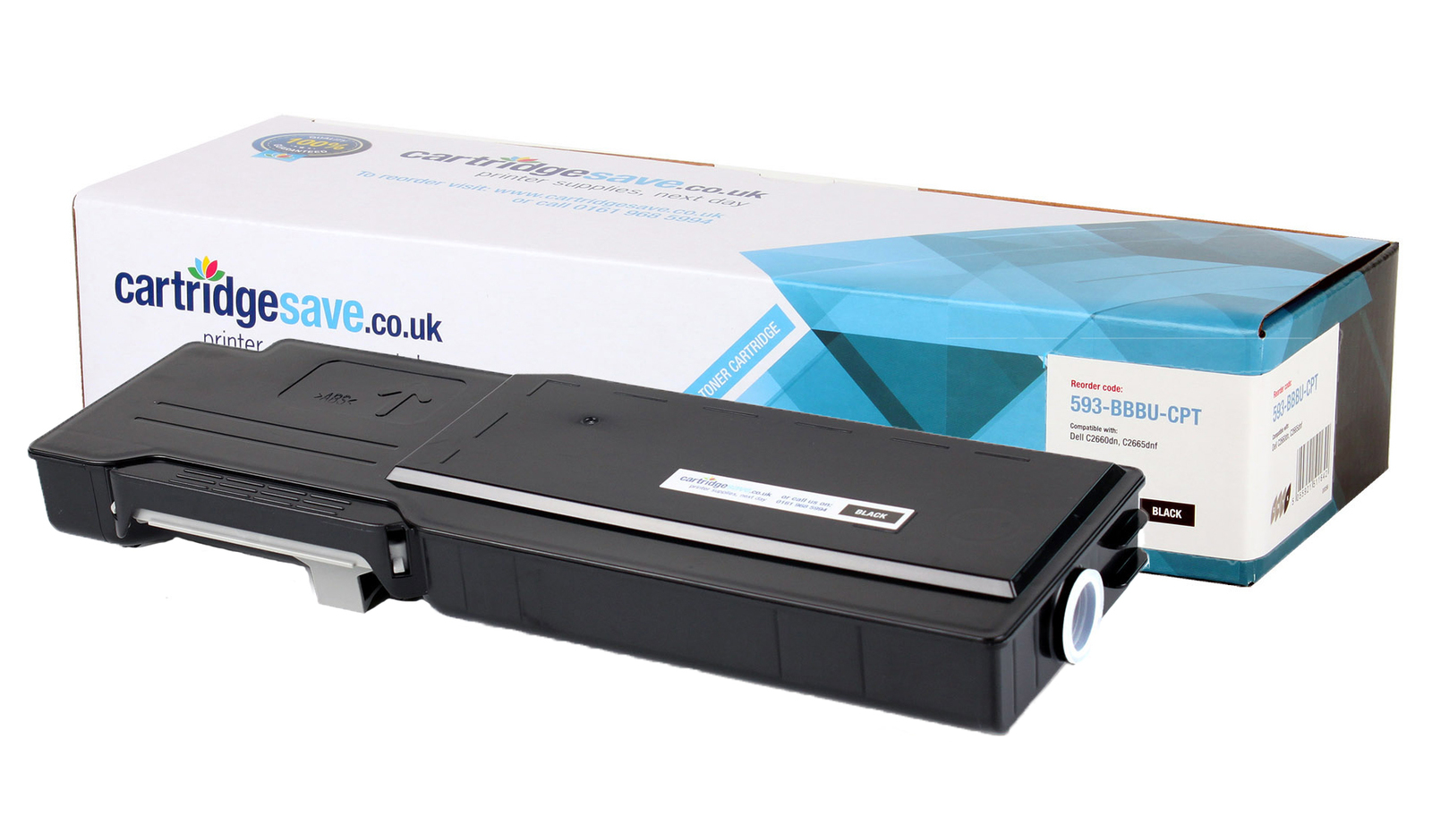 Compatible Extra High Capacity Black Dell RD80W Toner Cartridge (593-BBBU Laser Printer Cartridge)