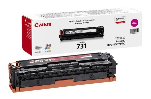 Genuine Magenta Canon 731 Toner Cartridge - (6270B002)