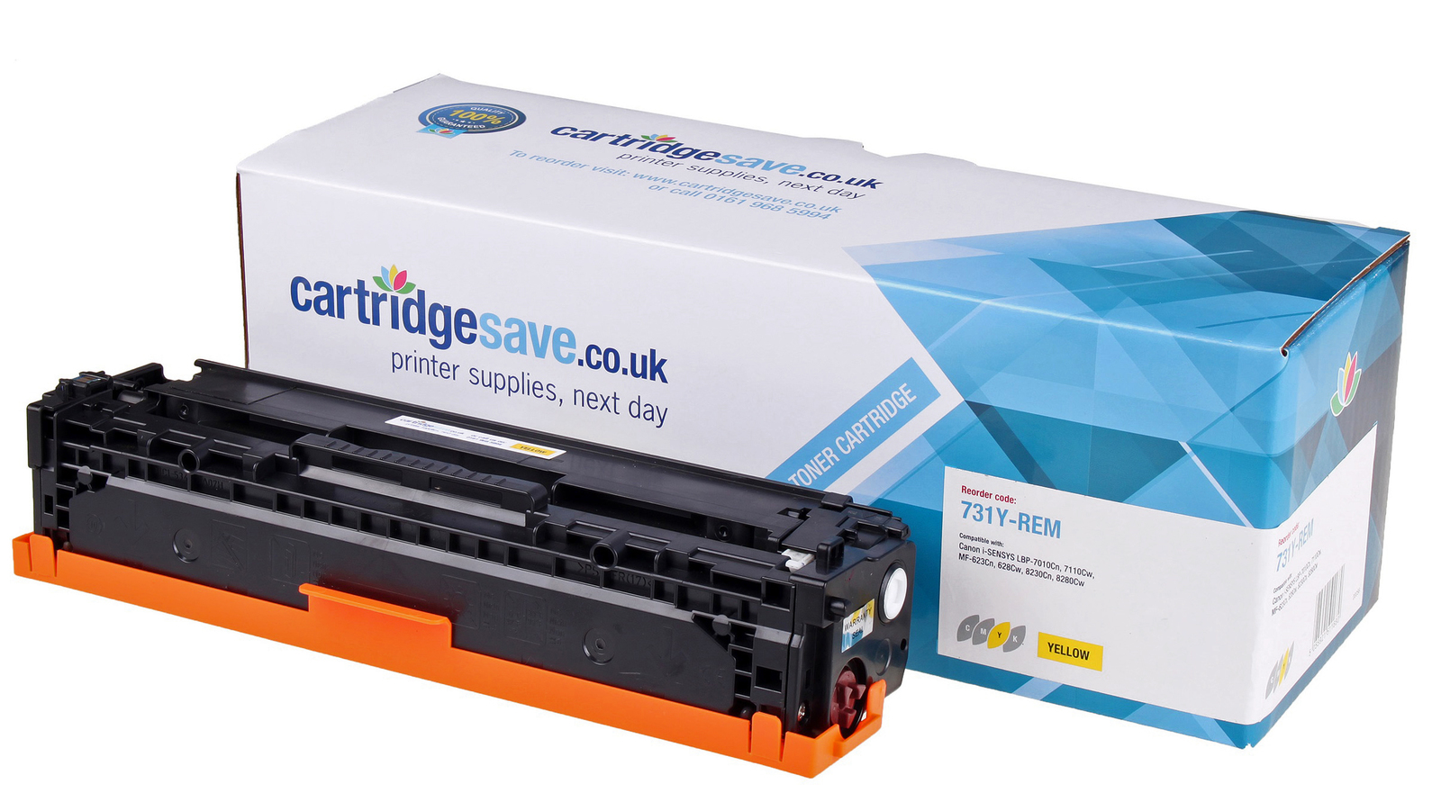 Compatible Yellow Canon 731 Toner Cartridge - (6269B002)