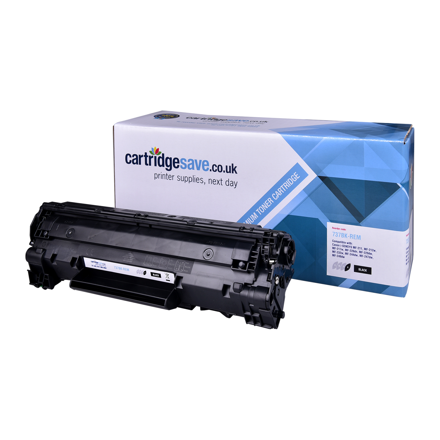 Compatible Black Canon CRG-737 Toner Cartridge - (9435B002)