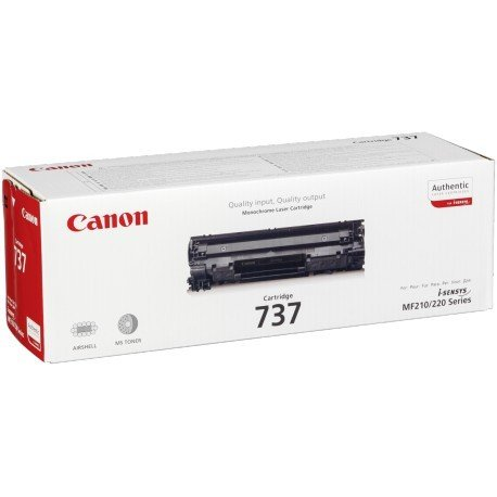 Genuine Black Canon CRG-737 Toner Cartridge - (9435B002)