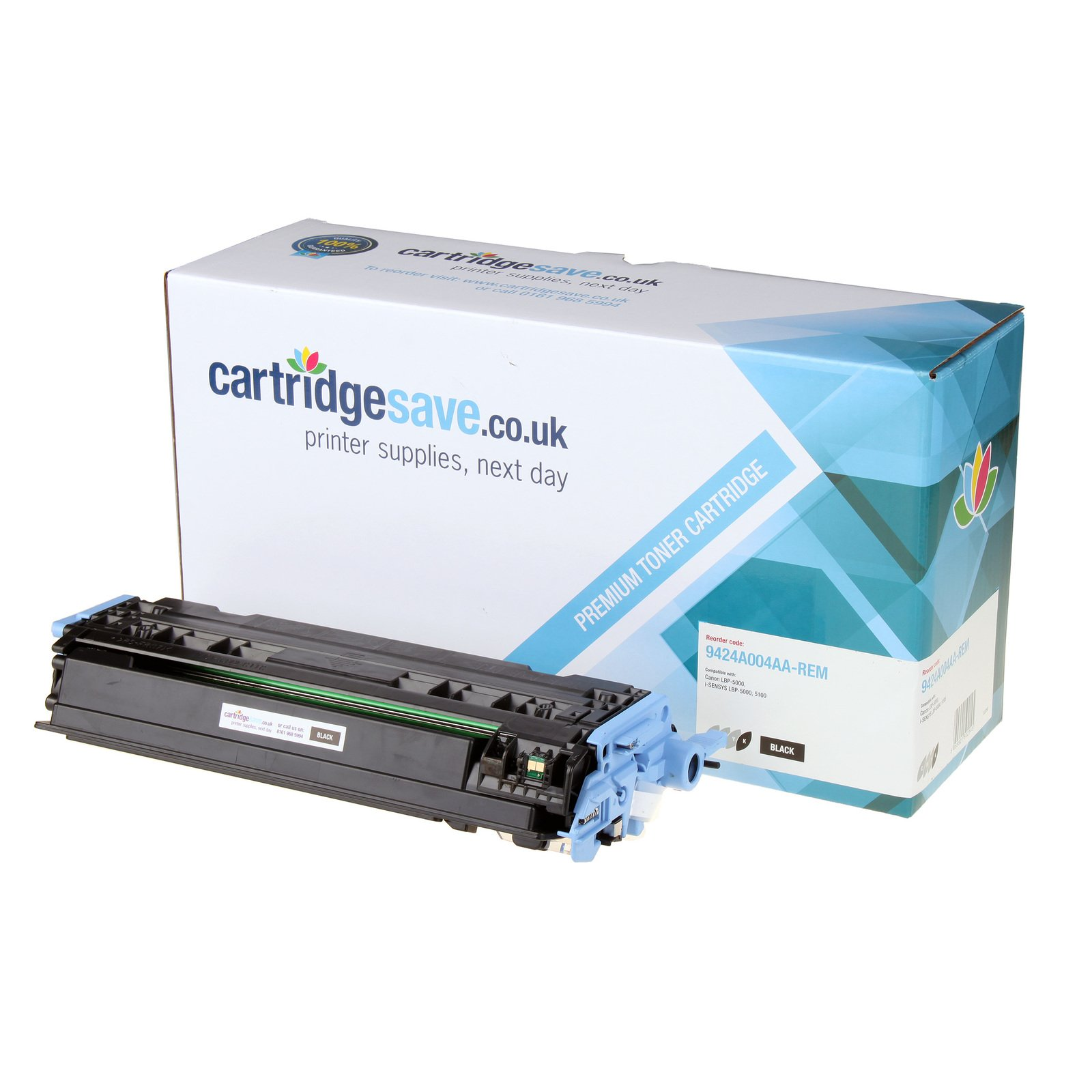 Compatible Black Canon 707 Toner Cartridge (Replaces Canon 9424A004AA Laser Printer Cartridge)