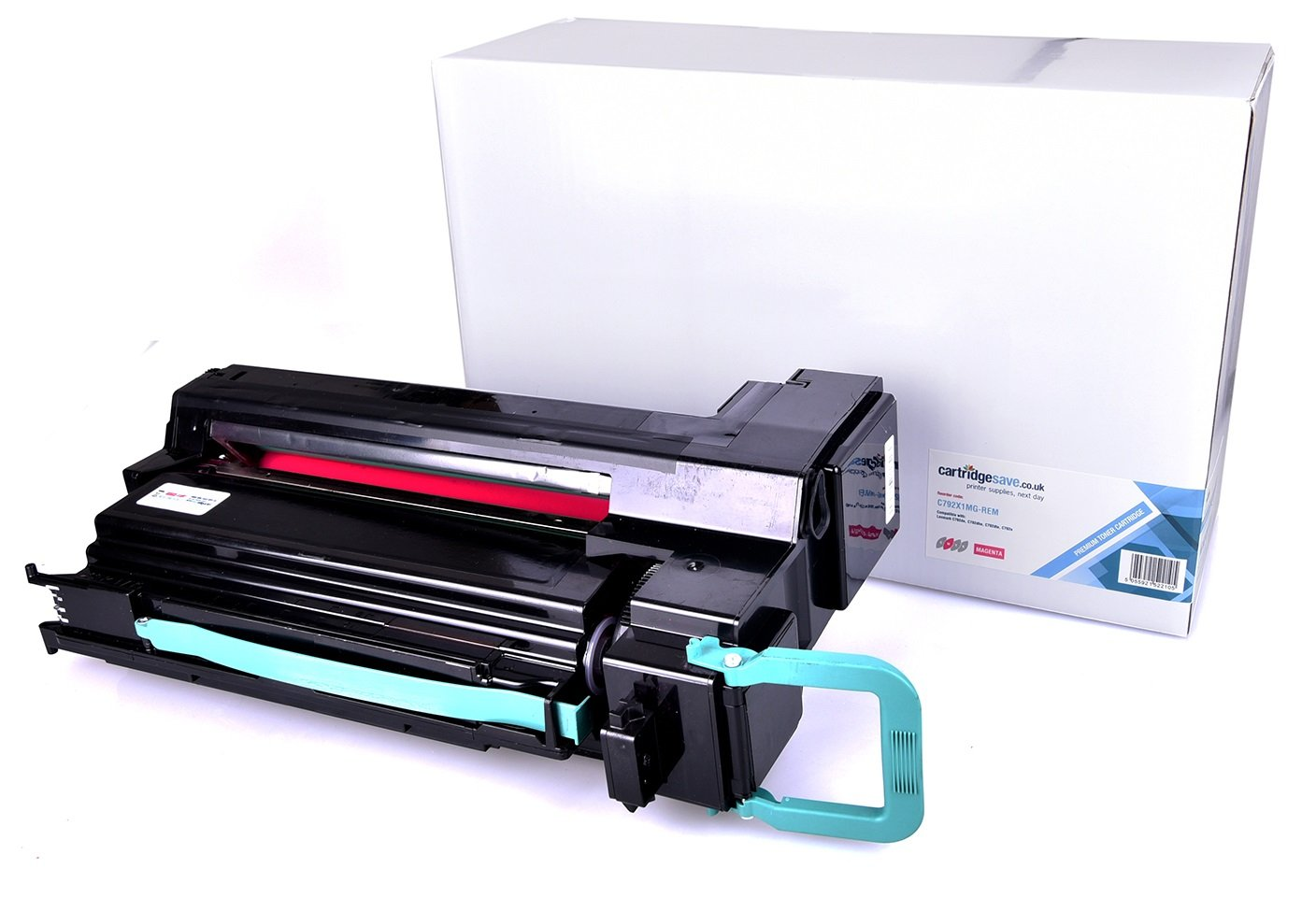 Magenta,High Yield Compatible Toner Replacement for Lexmark C792X2MG C792X1MG