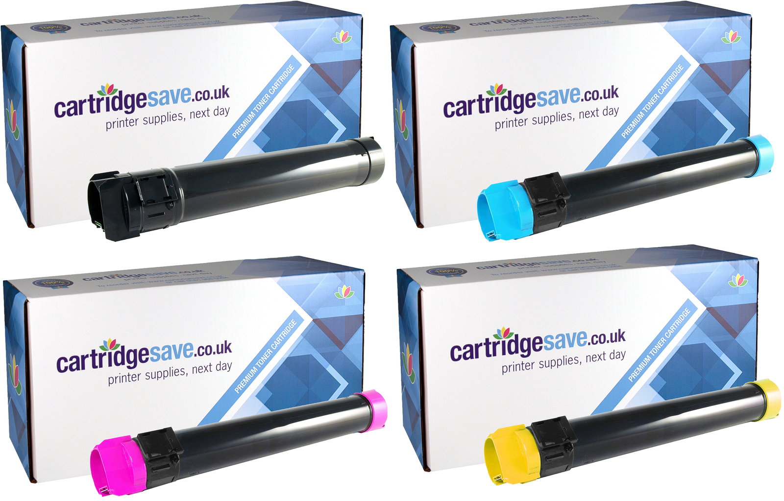 Compatible Extra High Capacity 4 Colour Lexmark C950X2 Toner Cartridge Multipack - (C950X2KG/CG/MG/YG)