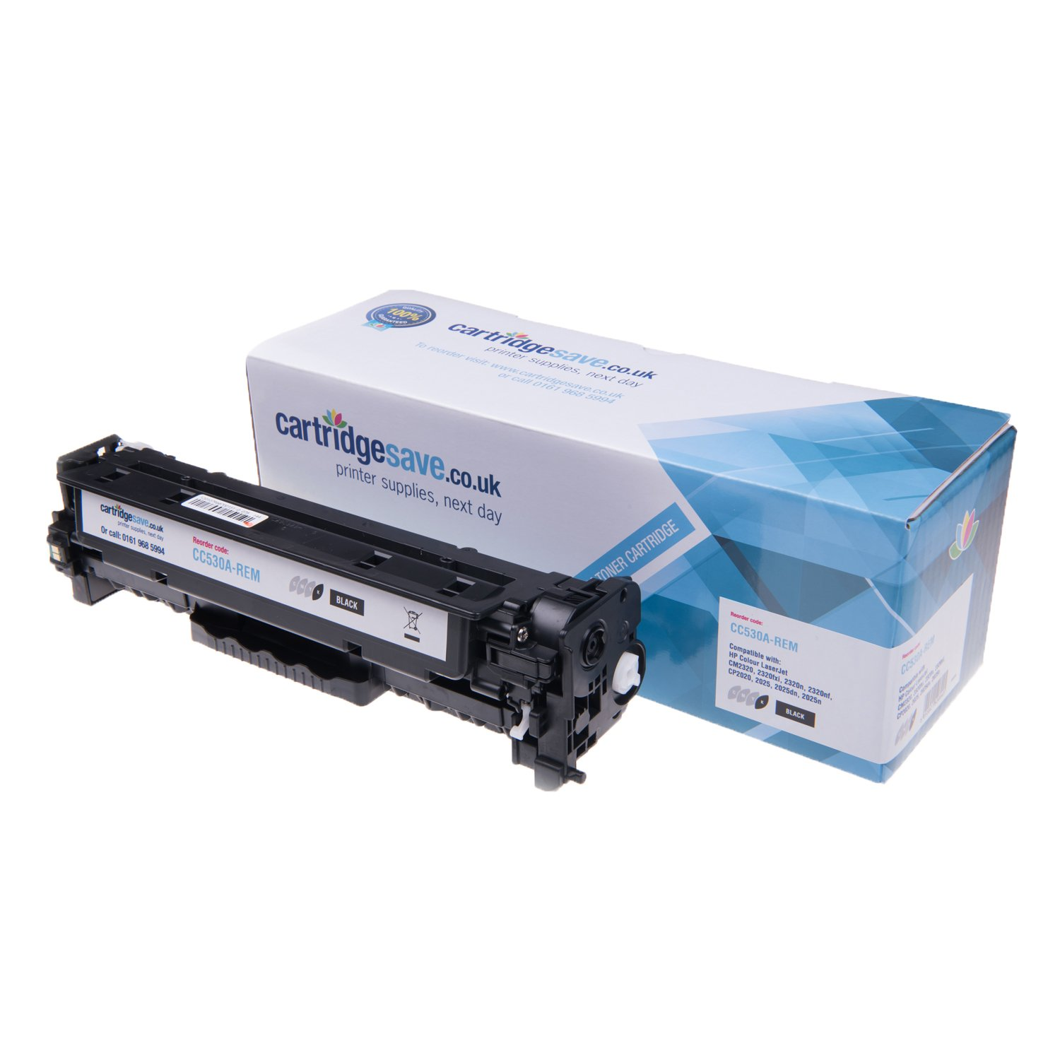 Compatible Black HP 304A Toner Cartridge - (HP CC530A)