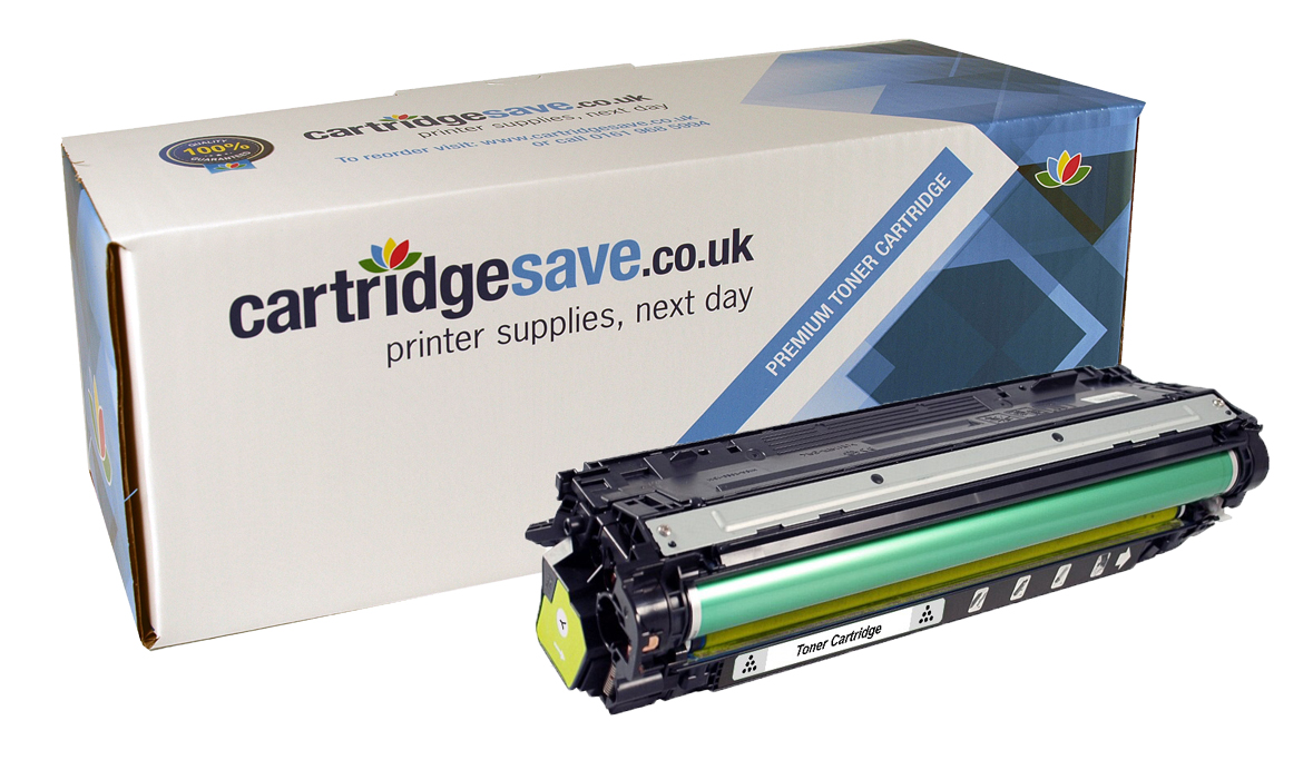 Compatible Yellow HP 650A Laser Toner - (HP CE272A)