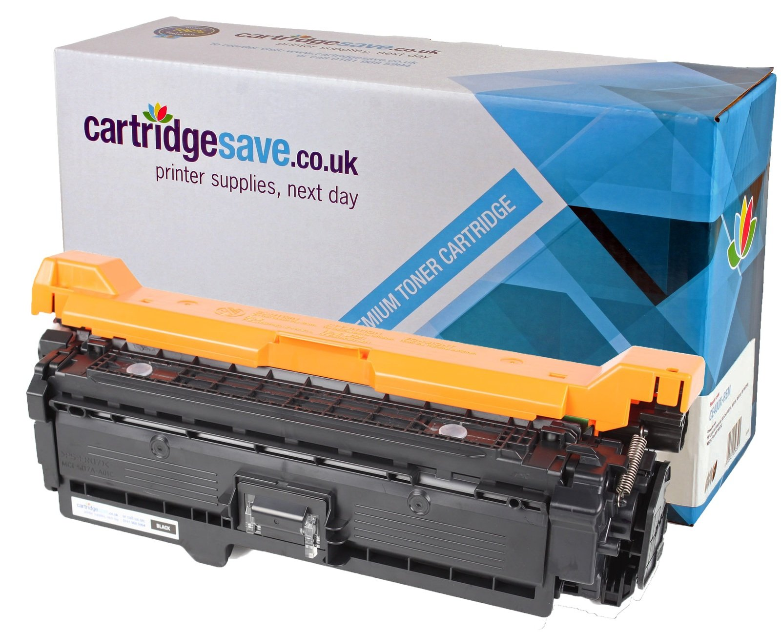 Compatible High Capacity Black HP 507X Laser Toner - (HP CE400X)