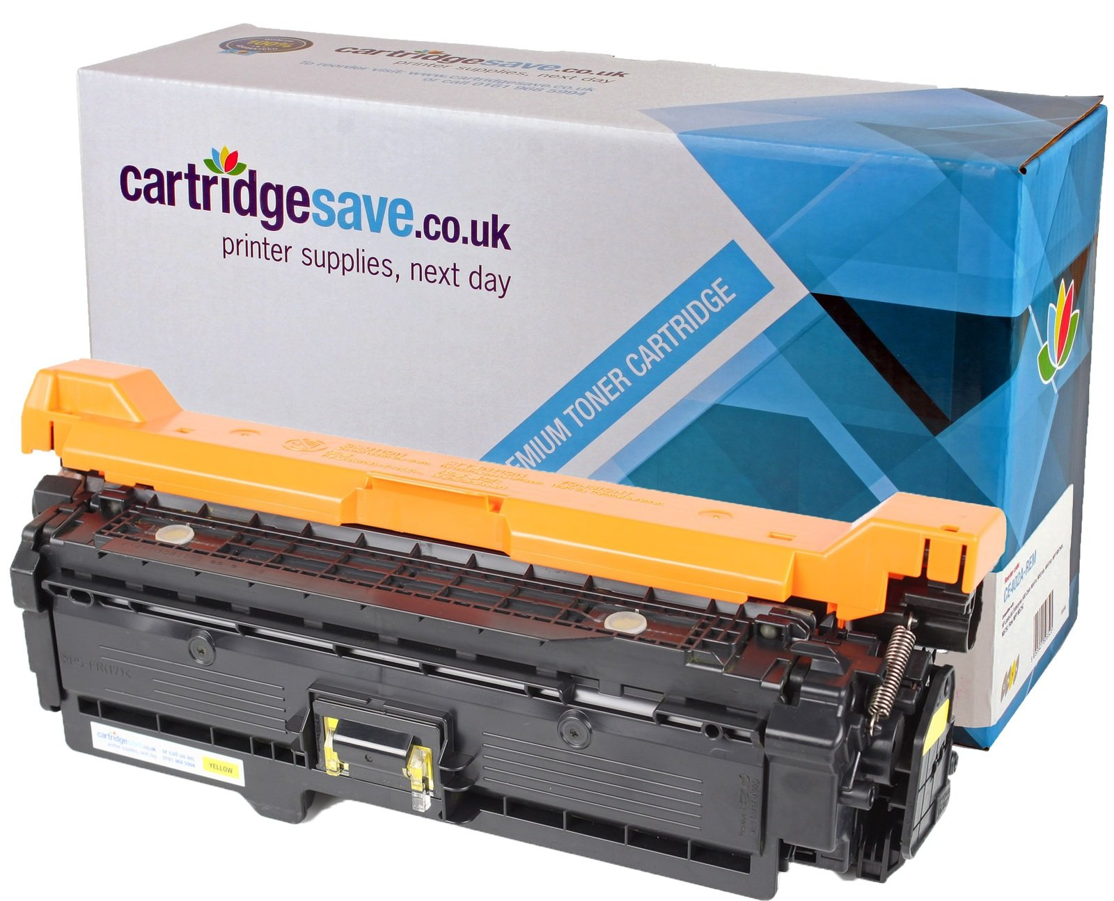 Compatible Yellow HP 507A Laser Toner - (HP CE402A)