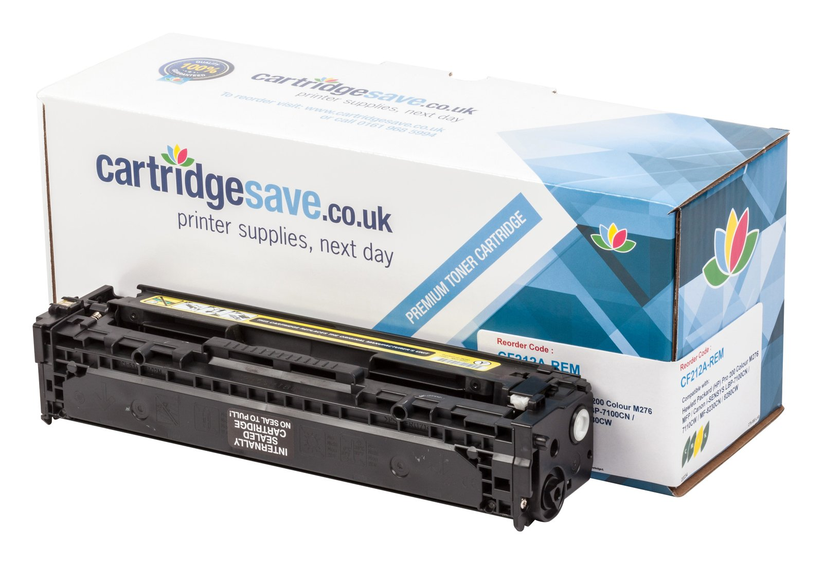 Compatible Yellow HP 131A Laser Toner - (HP CF212A)