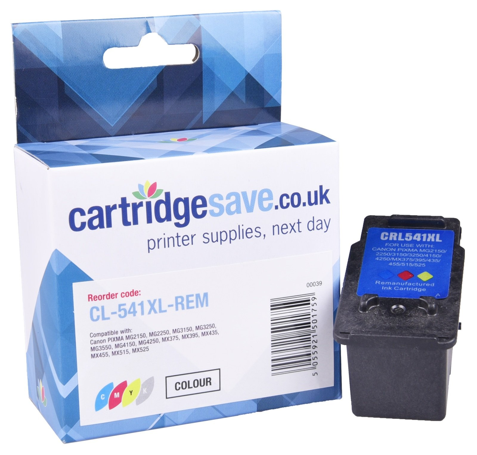 Compatible High Capacity Tri-Colour Canon CL-541XL Ink Cartridge - (5226B005AA)