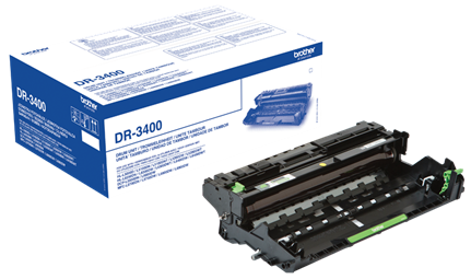 Genuine Black Brother DR-3400 Drum Unit (DR3400 Laser Printer Imaging Unit)