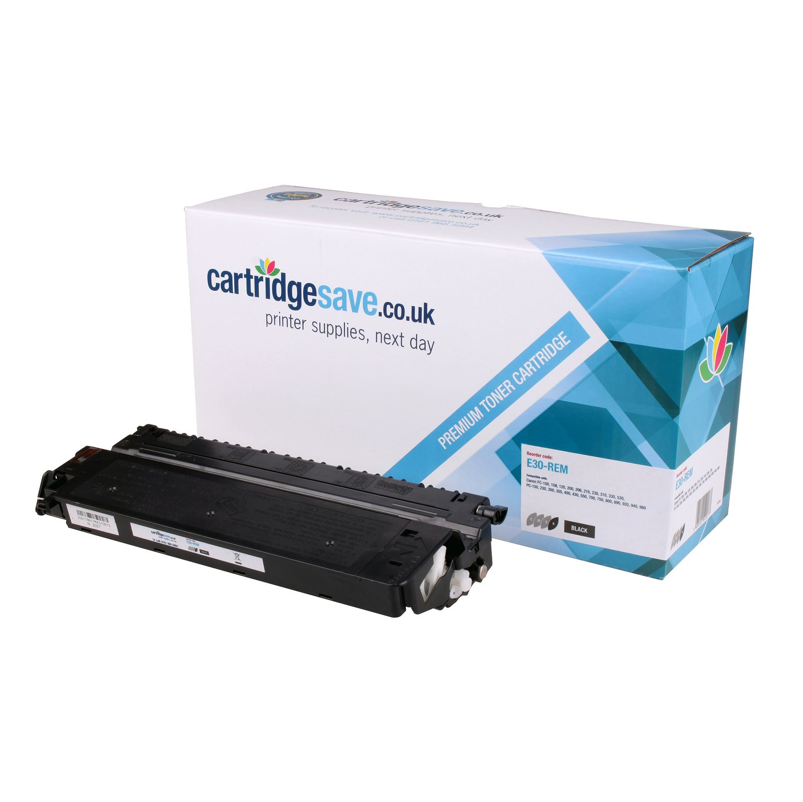 Compatible Black Canon E30 Toner Cartridge - (Canon 1491A003BA)