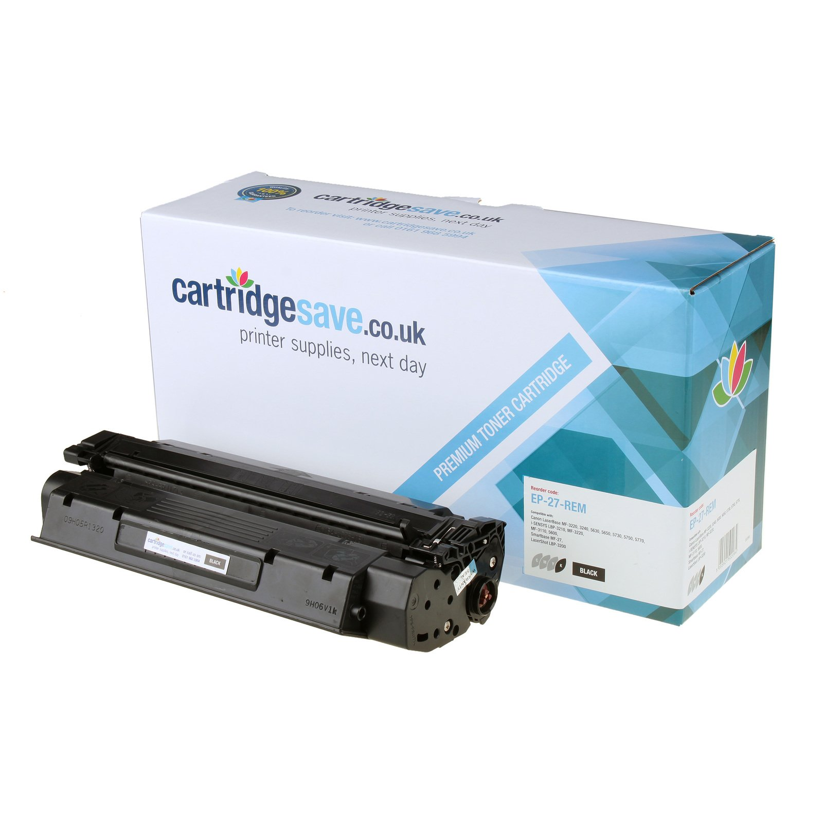 Compatible Black Canon EP-27 Toner Cartridge - (Replaces Canon 8489A002AA)