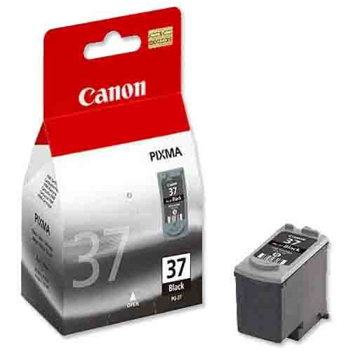 Genuine Light User Black Canon PG-37 Ink Cartridge - (2145B001)