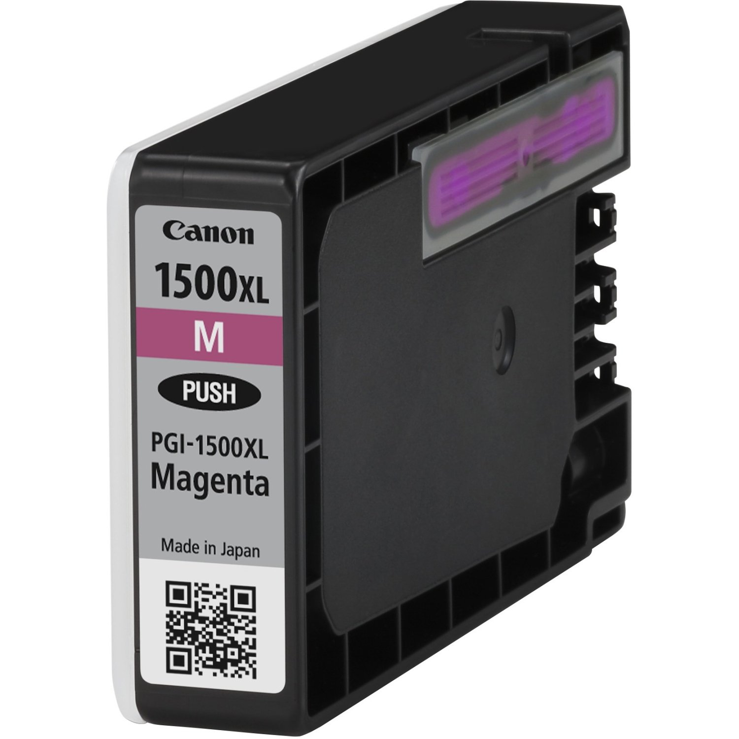 Genuine High Capacity Magenta Canon PGI-1500XLM Ink Cartridge - (9194B001AA)