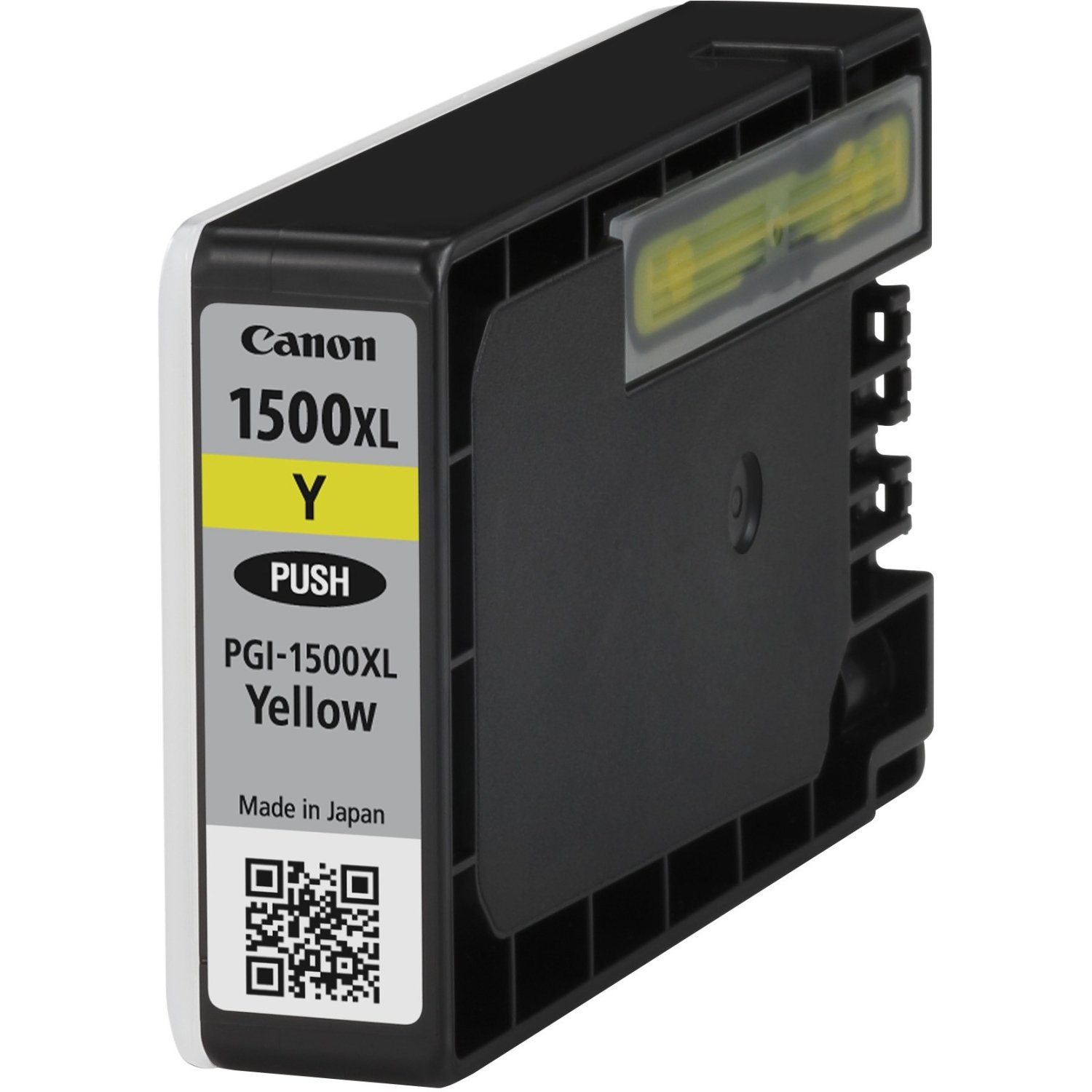 Genuine High Capacity Yellow Canon PGI-1500XLY Ink Cartridge - (9195B001AA)