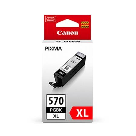 Genuine High Capacity Black Canon PGI-570PGBKXL Ink Cartridge - (PGI570PGBKXL)