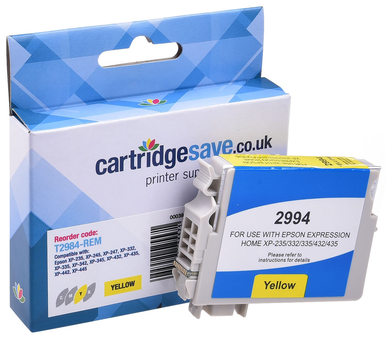 Compatible Yellow Epson 29 Ink Cartridge - (Replaces Epson T2984 Strawberry Inkjet Printer Cartridge)