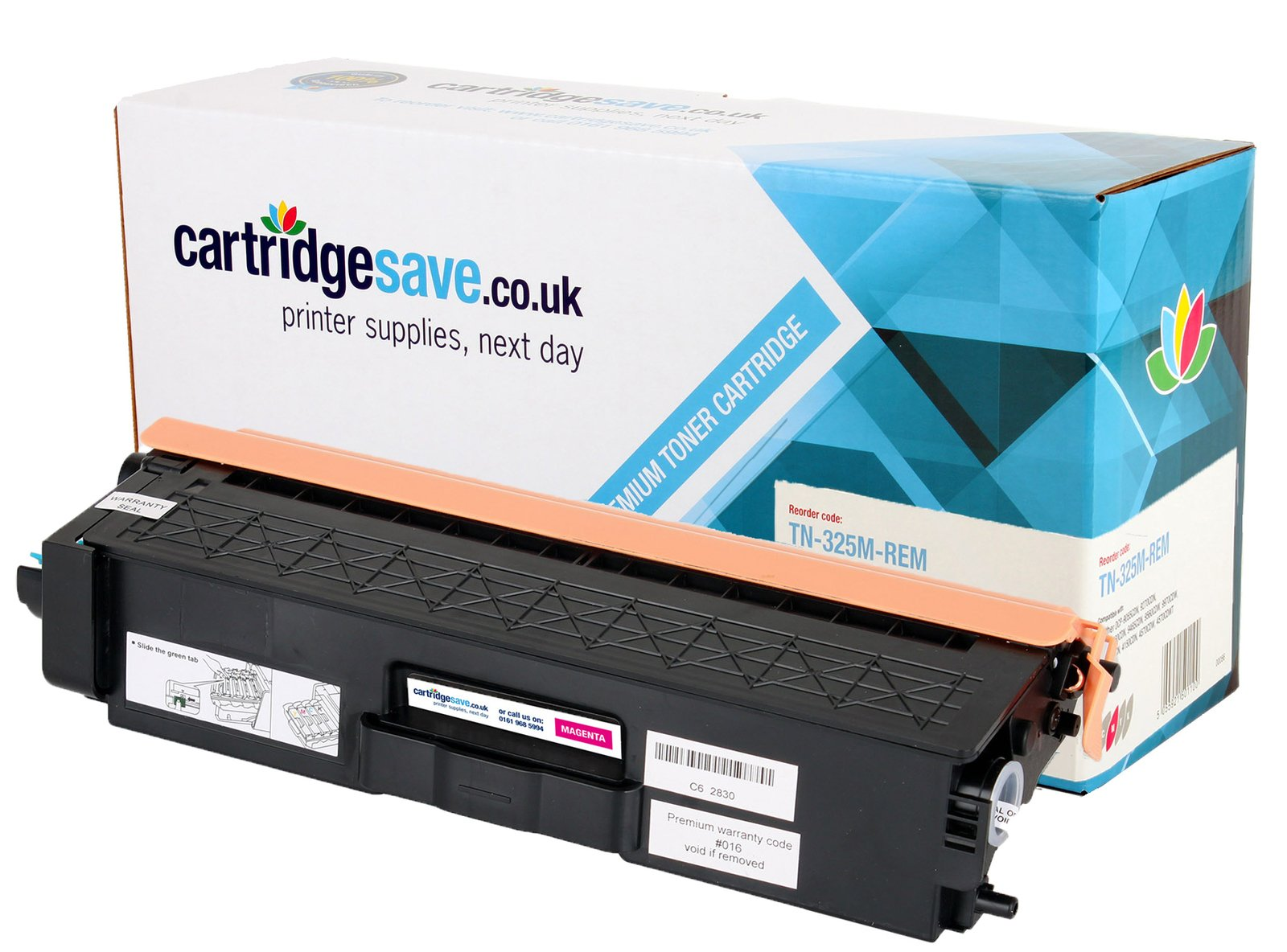 Compatible High Capacity Magenta Brother TN-325M Laser Toner - (Brother TN325M)