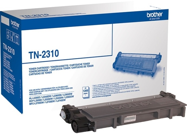 Genuine Black Brother TN-2310 Toner Cartridge (TN2310 Laser Printer Cartridge)