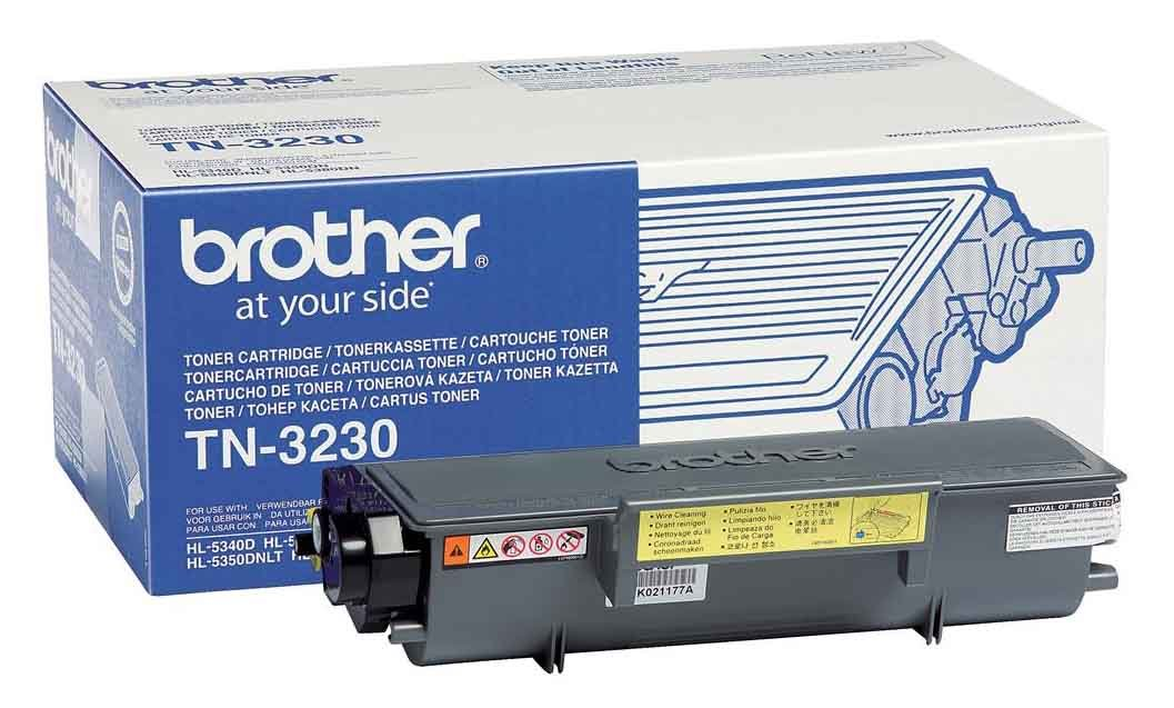 Genuine Black Brother TN-3230 Toner Cartridge (TN3230 Laser Printer Cartridge)
