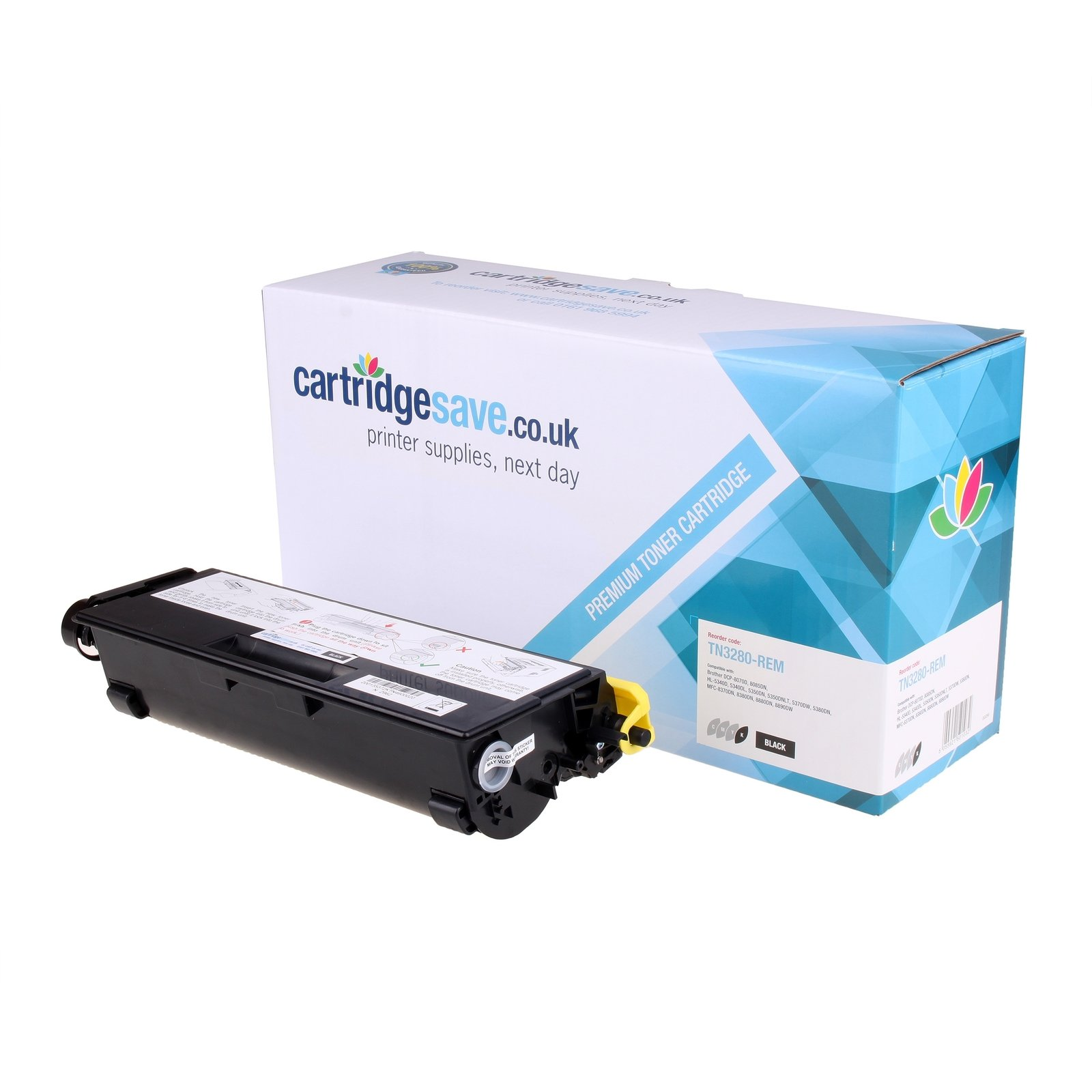 Compatible High Capacity Black Brother TN-3280 Toner - (Brother TN3280)