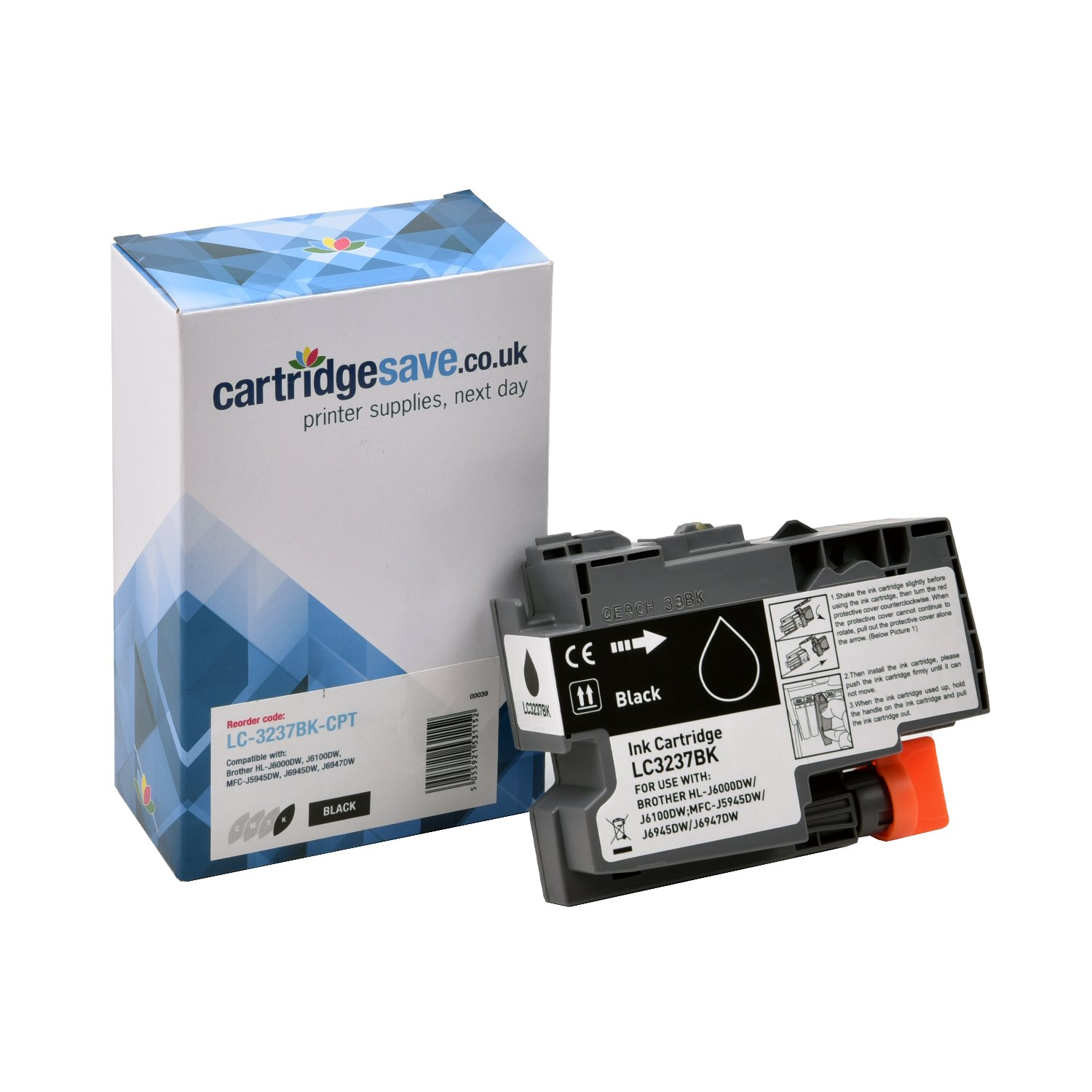 Compatible Black Brother LC-3237BK Ink Cartridge (LC-3237BK)