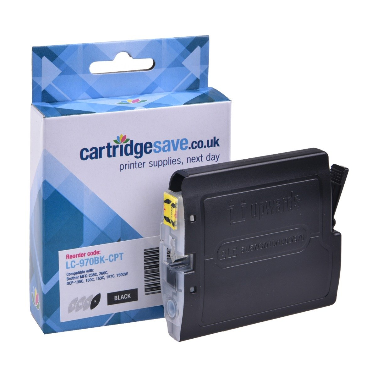 Compatible Black Brother LC970BK Ink Cartridge - (LC-970BK)