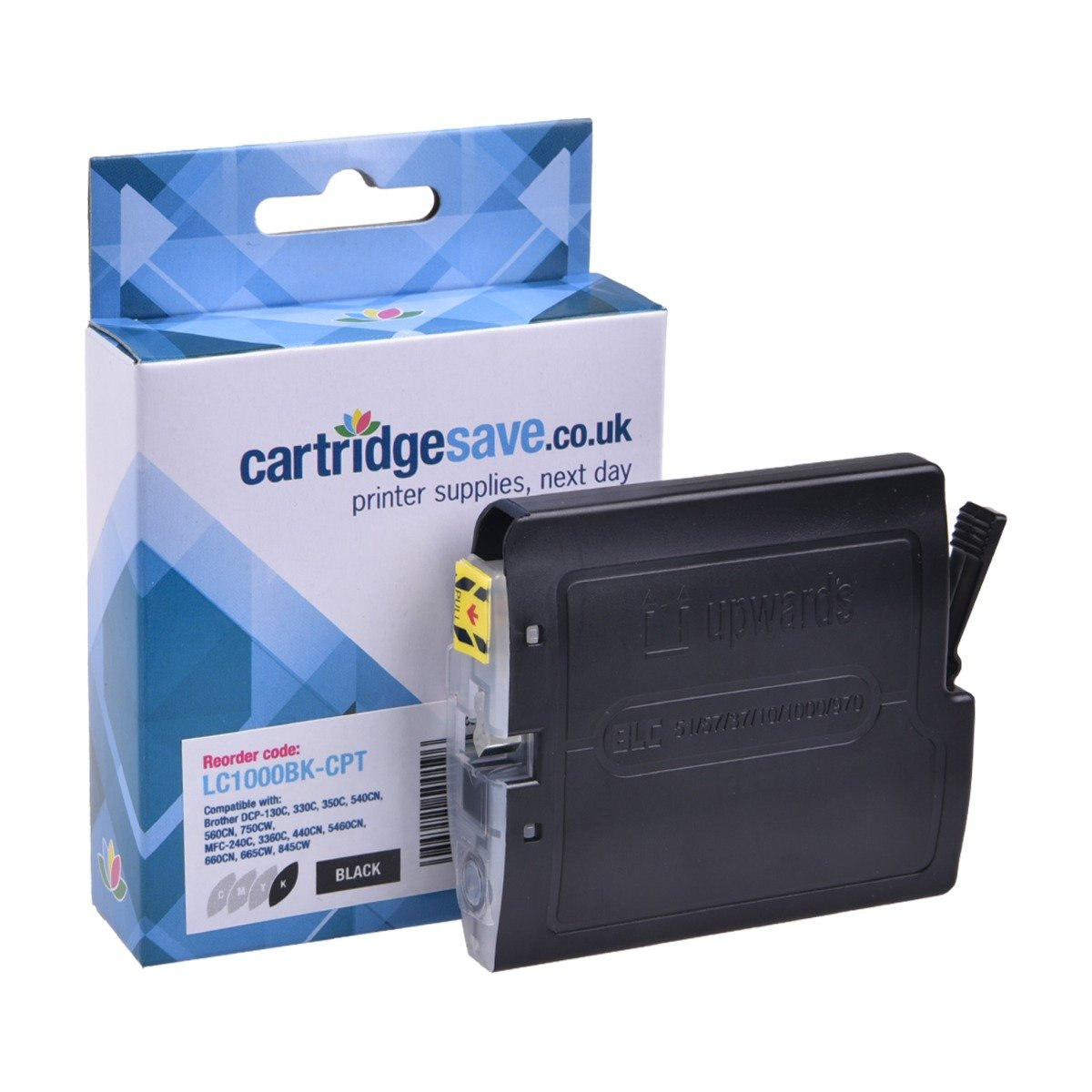 Compatible Black Brother LC1000BK Ink Cartridge - (LC-1000BK)