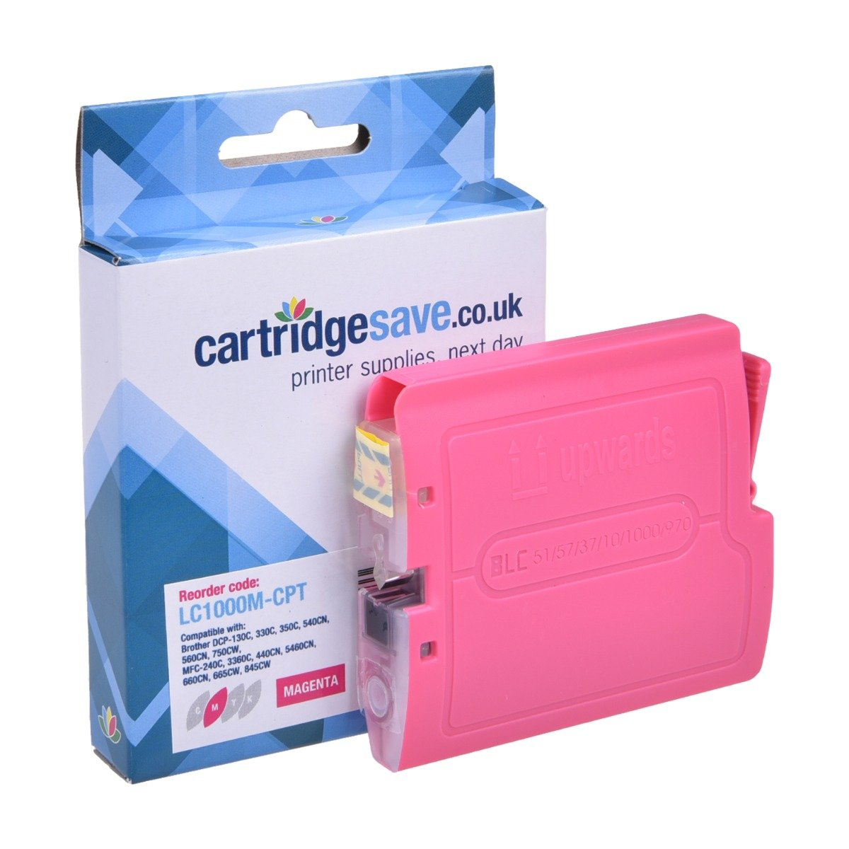 Compatible Magenta Brother LC1000M Ink Cartridge - (LC-1000M)