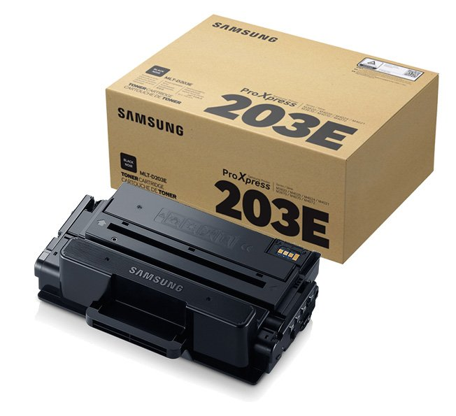 Genuine Extra High Capacity Black Samsung 203E Toner Cartridge - (MLT-D203E/ELS)
